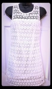 White lace Hollister dress Size 5
